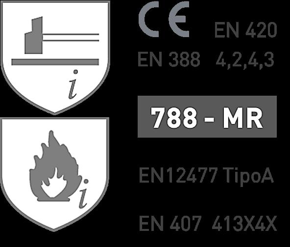 Luvas de Soldador 788-MR
