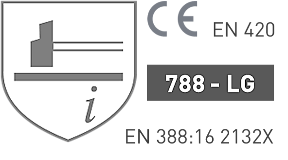 EN388 Luvas Tipo Chefe